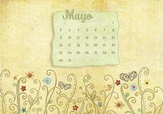Fondo de pantalla Calendario Mayo Wallpaper May