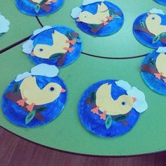 Bird Nest Craft Children of all ages will enjoy one of our favorite spring crafts for kids- a sweet little nest and baby bird craft! Even my toddler enjoyed creating these cute, little baby chicks!