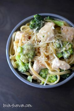 Skinny Chicken- Broccoli Alfredo