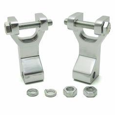 KEMiMOTO For Honda TRX 450R For Yamaha YFZ450 Raptor 700 ATV Front Lowering Kit Silver Aluminum TRX450R YFZ 450 #Affiliate