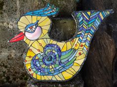 Stephanie Gentry Mosaics: Babette - She's the Beguiling One