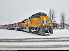 RailPictures.Net Photo: UP 9040 Union Pacific EMD SD70AH at St-Jean-sur-Richelieu, Canada by Frank Jolin