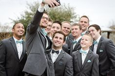 Wedding vows await, but first, let us take a selfie.