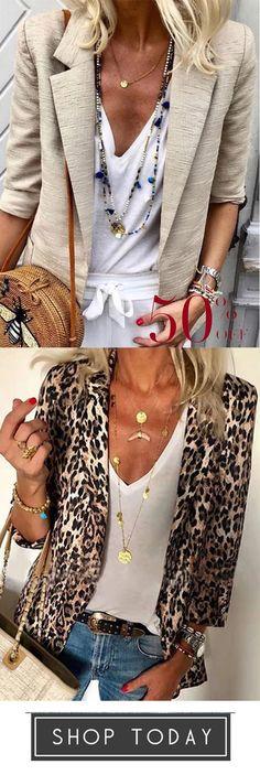 Women's Solid Color Lapel Blazer Coats Stitch Fix Outfits, Wardrobe Ideas, Work Casual, Short Hair, Style Me, Hair Cuts, Coats, Autumn, Blazer