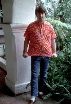 Brian Wilson, Wilson Brothers, Men Casual, The Beach Boys, Surfs Up, David Bowie, Daydream, Mens Tops, Button Down Shirt