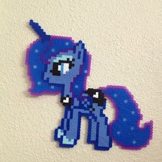 MLP Princess Luna perler beads by ferretmilk