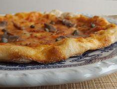 Pizza con farina di farro Capperi e acciughe https://www.cucinapergioco.com/2017/05/02/pizza-con-farina-di-farro.html