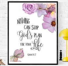 Isaiah 14:27 Nursery decor Bible Printable Bible printable        bibleverse# bibleverseprint #christianart #christiandecor #instantdownload #HomeDecor #Printable #WallArt #PrintableArt  bibleverseprint #christianart #scriptureprint #scripturedecor #scriptureposter #christiandeco#