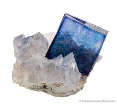 Halite on Sylvite - Kerr McGee Mine, Carlsbad Potash District, Eddy County, New Mexico