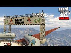 LA MOTO MAS RAPIDA!! + SUPER SALTO - Gameplay GTA 5 Online Funny Moments (Carrera GTA V Xbox ONE) - YouTube