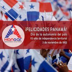 Felíz día #PTY #113años #PanamáCelebra tal día como hoy en 1903 obtuvo su independencia territorial y se erige desde entonces soberana!