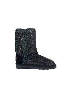 Sequin Snow Boot