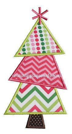christmas tree 11 applique design - Christmas Tree Applique
