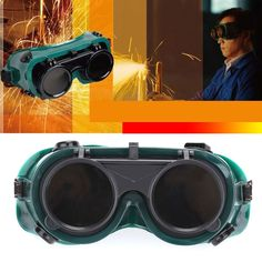 Welding Glasses Flip Up Eye Shield Premium Welding Eyes Goggle Anti-Glare Eyes Protection Cutting Safety Goggles Manufacturing Sale Only For US $2.82 on the link