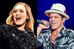 Imagem: Bruno Mars fala sobre parceria com Adele em All I Ask