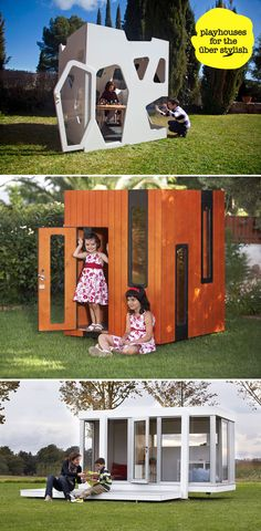 playhouse for kids,wooden playhouse, kids outdoor playhouse, how to build a playhouse, kids playho… Kids Wooden Playhouse, Kids Playhouse Plans, Modern Playhouse, Backyard Playhouse, Build A Playhouse, Cedar Playhouse, Simple Playhouse, Backyard Toys, Playhouse Ideas