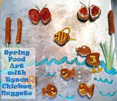 Spring Food Art with