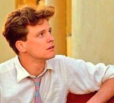 Even Colin Firth wore 1980s clothes...he just wore them better.