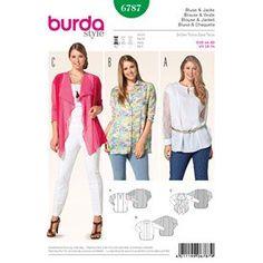 Mccalls Damas Tops Verano 6960 fácil patrón de costura /& túnicas mccalls - 696...