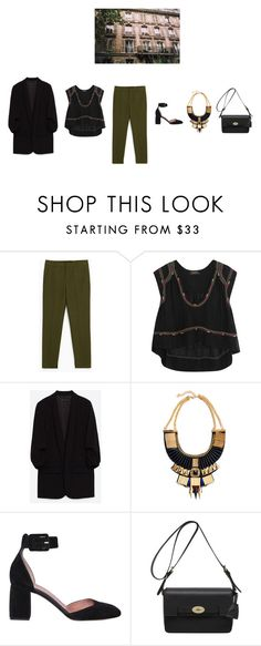 """Без названия #640"" by ya-irchy ❤ liked on Polyvore featuring Isabel Marant, RED Valentino and Mulberry"