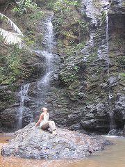 waterfall hike. bangkok, thailand.