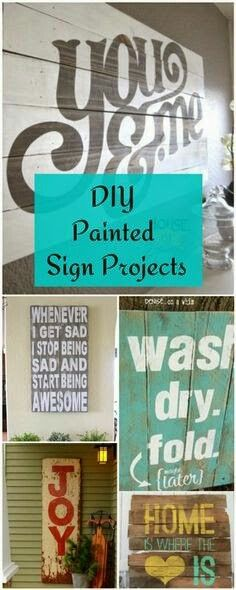 Painted Sign Projects