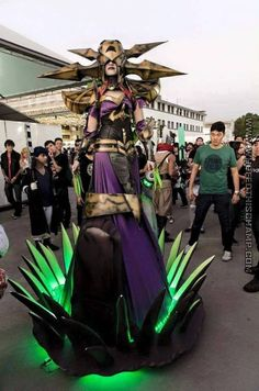 Simply the Best Blade Queen Lissandra Cosplay