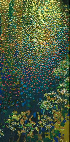 """Section of - """"Early Spring""""  by Ton Dubbeldam"""
