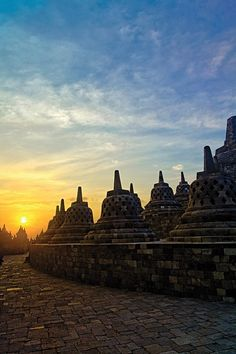 Java, Indonesia by Jorge De La Torriente  :: what you are looking right now is Borobudur Tample located in Magelang, my city. It was built by Syailendra Dynasty of Mataram Kingdom hundreds years ago