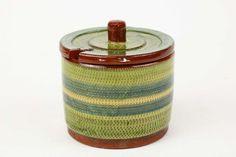 MARMELADBURK keramik Samuel Johansson Arvika höjd 9 cm