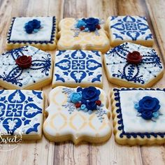 Mediterranean Theme Bridal Shower Ideas - Page 8 of 36 - You and Big Day Portuguese Wedding, Cookies Decorados, Italian Party, Mediterranean Wedding, Spanish Wedding, Bridal Shower Party, Bridal Showers, Sweet Cookies, Bridal Musings