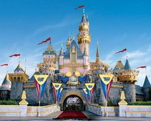 HUAYI Fairy tale castle photography backdrops princess backgrounds for studio princess photo background fabric backdrop d-8481(China (Mainland))