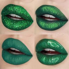 { g a r l a n d } I couldn't help it but do a green version of yesterday's post products used: TL: @michaelsstores glitter TR: @limecrimemakeup serpentina liquid lip BL: @katvondbeauty lemmy lip liner & plan 9 BR: @maccosmeticscanada peace love unity respect grand illusion gloss #lipart#holidays#glam#lips#art#create#vancouver#yvr#vancity#mac#maccosmetics#limecrime#katvond#kvdlook#maccosmeticscanada#glossy#gloss#fashion#aesthetic