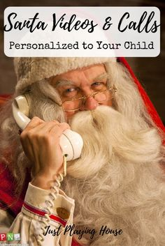 The magic of Santa - Personalized videos from Santa - Personalized calls from Santa - Christmas - Kids - Is Santa Real?