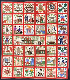 Read the story behind the most expensive quilt ever purchased at auction (for $264,000!) in the October/November 2013 issue of The Quilter Magazine