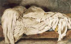 An unmade bed, Eugène Delacroix / Paris, musée Eugène Delacroix Edward Hopper, Gouache, Eugène Delacroix, Romanticism Artists, Unmade Bed, John Singer Sargent, Art Graphique, Old Master, Famous Artists
