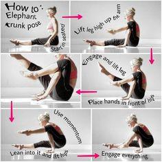 Yoga Asanas and Gym Exercises - Yoga breathing Pilates, Compass Pose, Qi Gong, Yoga World, Yoga Strap, Yoga Pictures, Advanced Yoga, Yoga Moves, Hiit