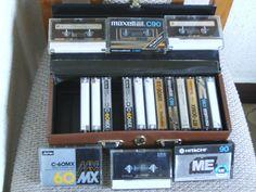 Audio Cassetten ca. 12 Metallbänder u. ca. 12 Chrombänder
