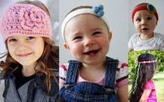 Znalezione obrazy dla zapytania opaski szydełkowe dla dzieci