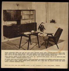 Internet Antiquarian Bookshop 108 Buddhas -- -- Architecture -- Sektorový nábytek U100 - UP závody