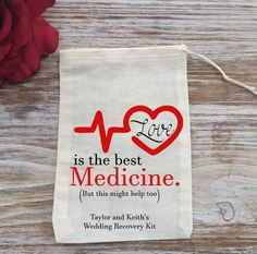 10 wedding recovery kit bags 3 by 4 wedding day by EverlongEvents