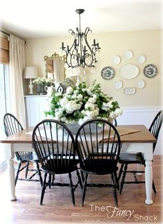 24 DIY Tutorials And Tips Windsor ChairsBlack ChairsDining Room