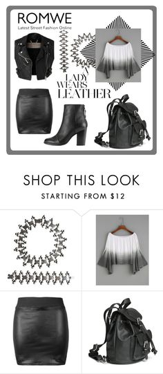 """""""A Lady wears leather"""" by sana-emara ❤ liked on Polyvore featuring Burberry and rag & bone"""