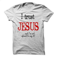 I TRUST JESUS - #cat hoodie #yellow sweater. SIMILAR ITEMS => https://www.sunfrog.com/Names/I-TRUST-JESUS.html?68278