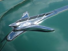 plymouth hood ornament | Green Plymouth hood ornament | Flickr - Photo Sharing!