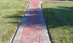 brick-paver-walkway-7-25-3 Paver Walkway, Brick Pavers, Walkways, Sidewalk, Gallery, Gardening, Catwalks, Driveways, Roof Rack