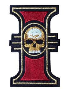 Inquisition Skull Warhammer 40000 World Order Emblem Patch