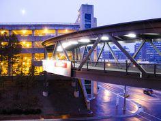 Sky bridge to Med School and UNC Hospitals