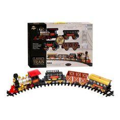 Holiday Christmas Train Cargo Car Tracks Kids Boy Girl Fun Ligths Xmas Winter #HolidayChristmasTrain