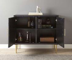 Varley Bone Inlay Sideboard - Julian Joseph Sideboard Cabinet, Accent Furniture, Interior Inspiration, Cleaning Wipes, Crates, Liquor Cabinet, Retro, Storage, Joseph